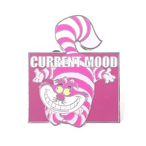 Alice In Wonderland Cheshire Cat Current Mood Pin